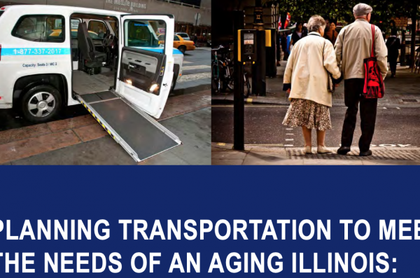 Planning Transportation to Meet the Needs of an Aging Illinois