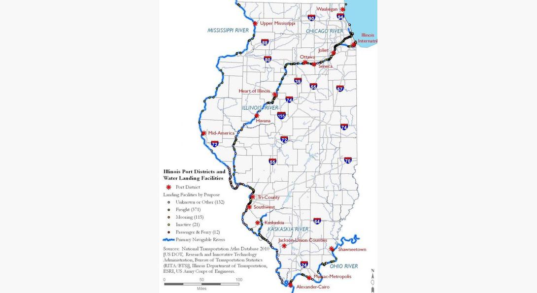 Illinois maritime transportation system