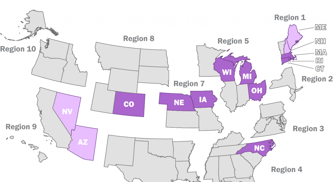 Mobility Management USA Map