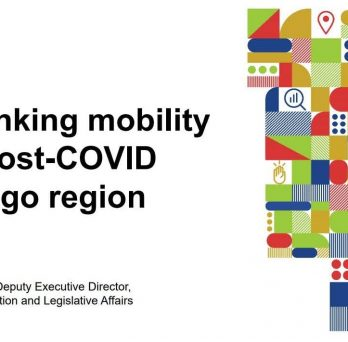 Seminar on Mobility Post COVID from CMAP