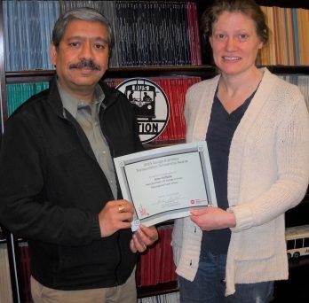 UTC PhD Candidate Earns APTF Scholarship 2021