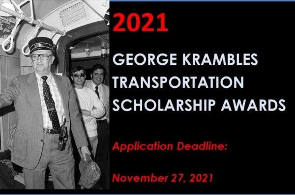 Registration for 2021 Krambles Transportation Scholarship Awards